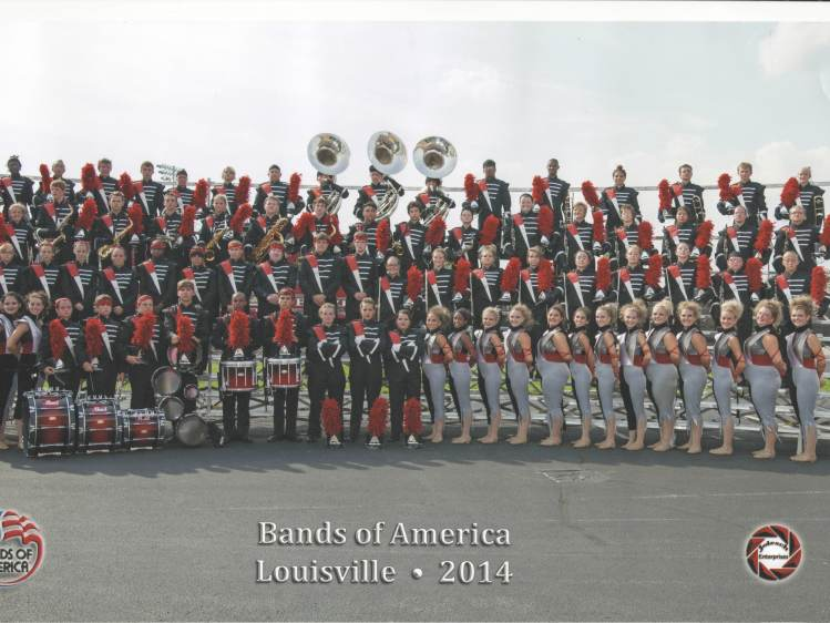 2014 GRC Marching Band Group Small