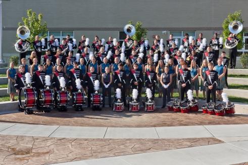 GRC Band 2013 Group Smiles 4x6