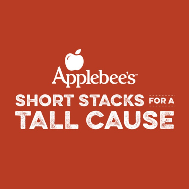 """Image result for applebee's short stacks for a tall cause"""""""